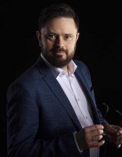 Męski portret biznesowy Sosnowiec